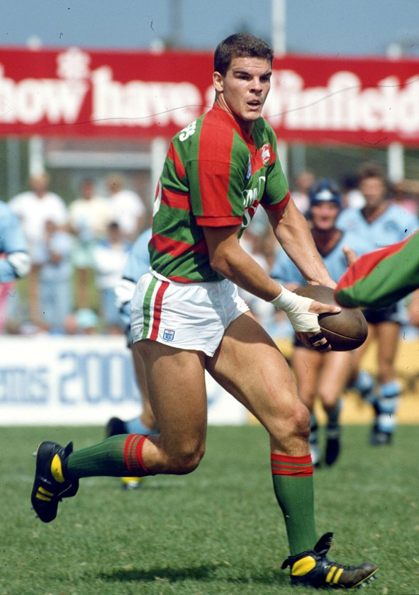 Former Souths, Manly, North Queensland, NSW and Australian forward Ian Roberts.