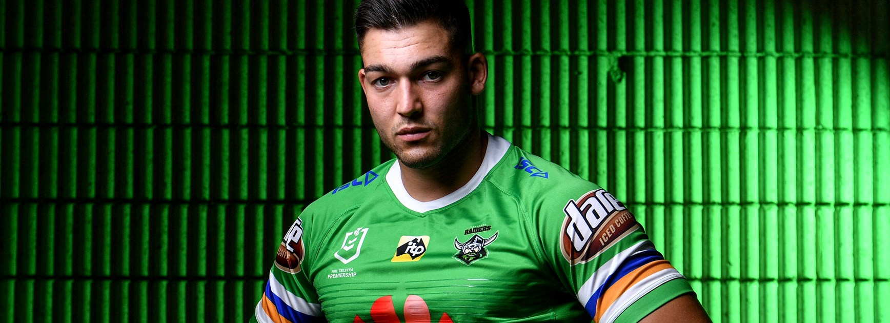 Raiders winger Nick Cotric.