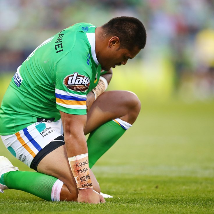 Leilua expected to miss rest of season with neck injury