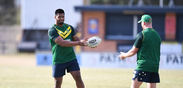 Haas, Cotric among eight new faces in Kangaroos side