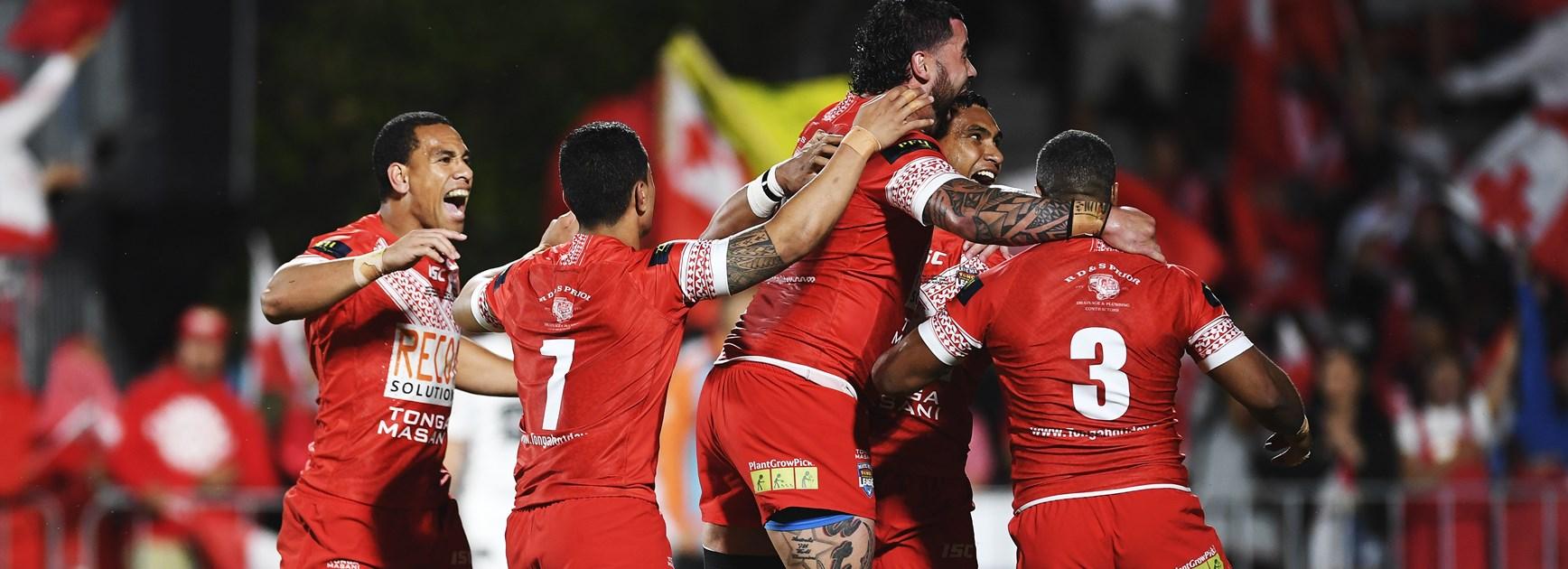 Pangai's dream to turn Tonga into force on world stage