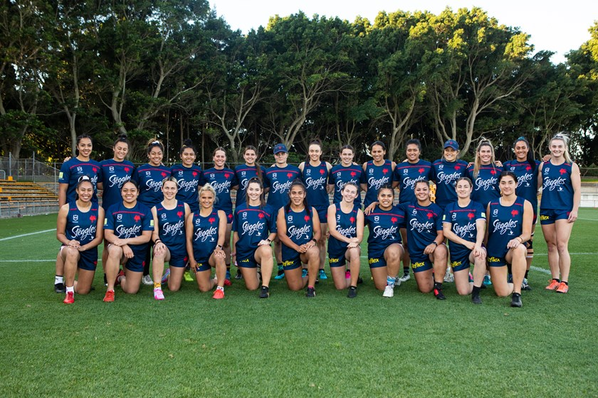 The Roosters' NRLW squad for 2020.