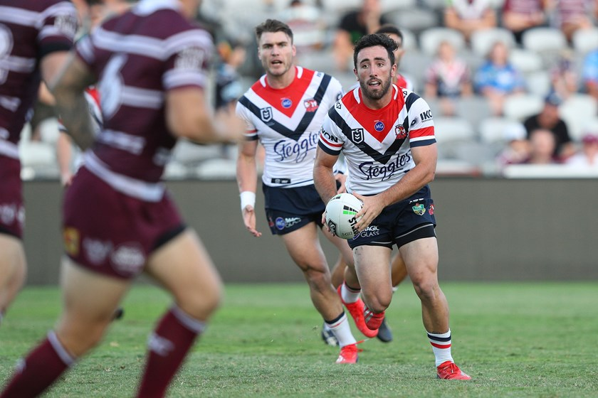 Roosters recruit Brock Lamb.