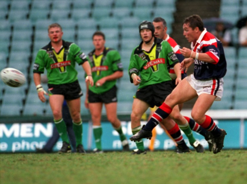 Cowboys coach Paul Green in his playing days with the Roosters.