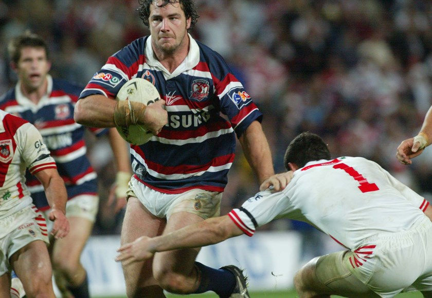 Adrian Morley was a huge fan favourite at Bondi.