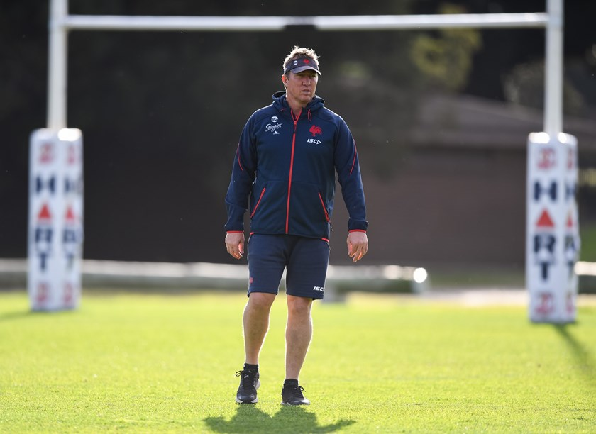 Sydney Roosters coach Trent Robinson.