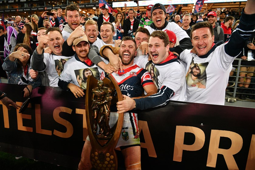 James Tedesco's superb 2018 season culminated in a premiership.