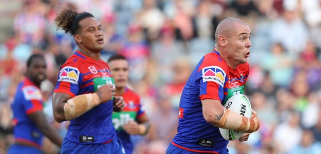 Pleasure and pain for Knights' new front-row duo