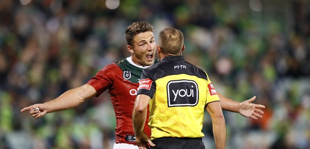 Burgess could have been binned but Annesley won't crucify refs