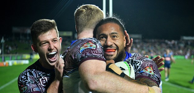 Jorge Taufua's bell ringers are music to Manly's ears