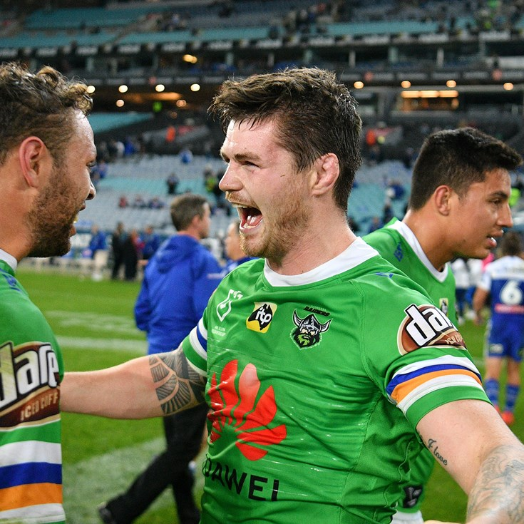 Bateman back with a bang as Raiders scrape past Bulldogs