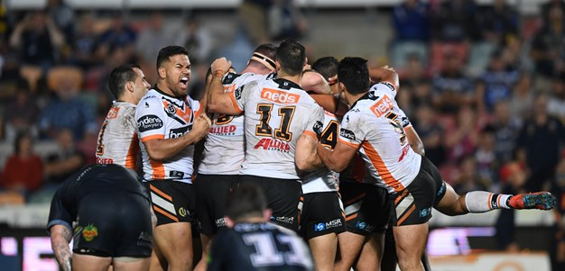 Marshall gets Wests Tigers home in golden point thriller