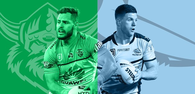Raiders v Sharks: Papalii set to start; Morris back on deck
