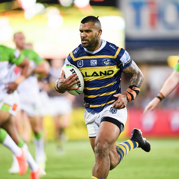 Emotional Ma'u content he's leaving Eels in a good place