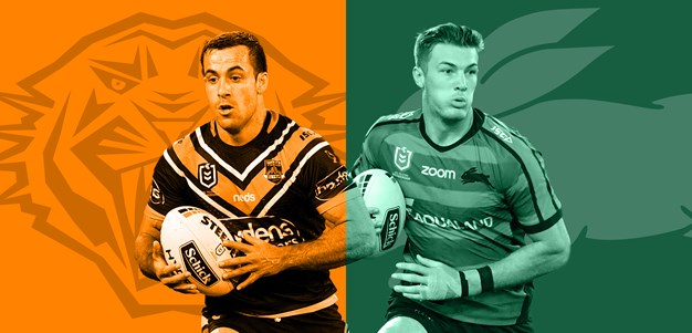 Wests Tigers v Rabbitohs: Round 15 preview