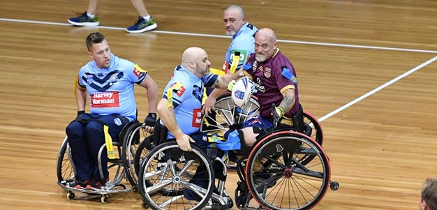 Wheelchair Rugby League Origin teams named