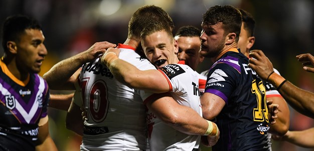 'It was very brave': McGregor proud of young Dragons