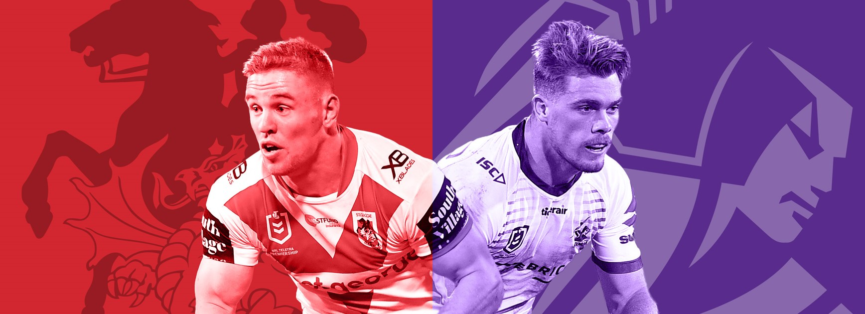 Dragons v Storm: Both teams adapt without Origin stars