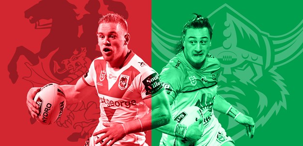 Dragons v Raiders: Round 17 preview