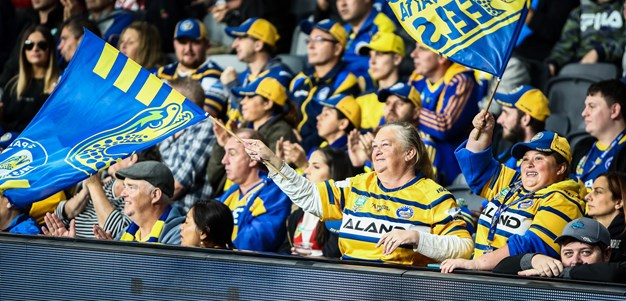 'Our turf' - Eels treating away game like home in Benji's 300th