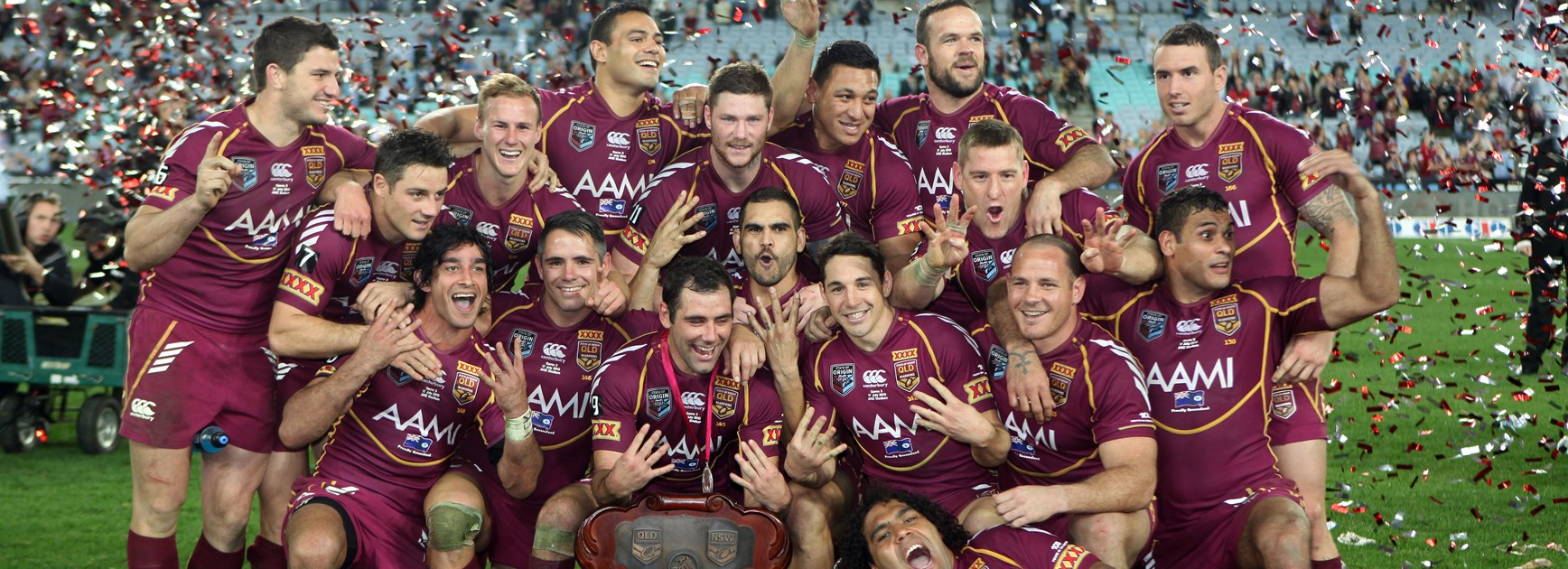 How 1919 war hero skipper and 2013 legends are inspiring Maroons