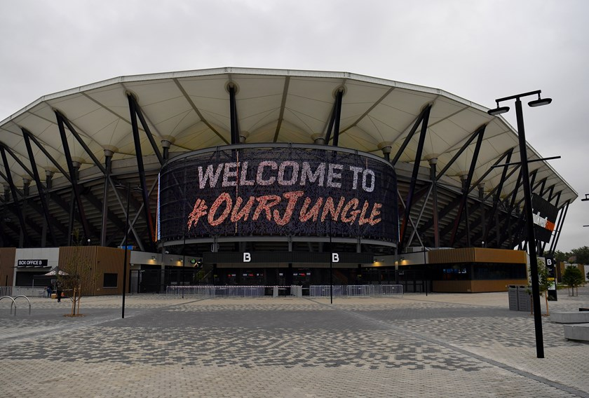 "Wests Tigers have called Bankwest Stadium ""Our Jungle""."