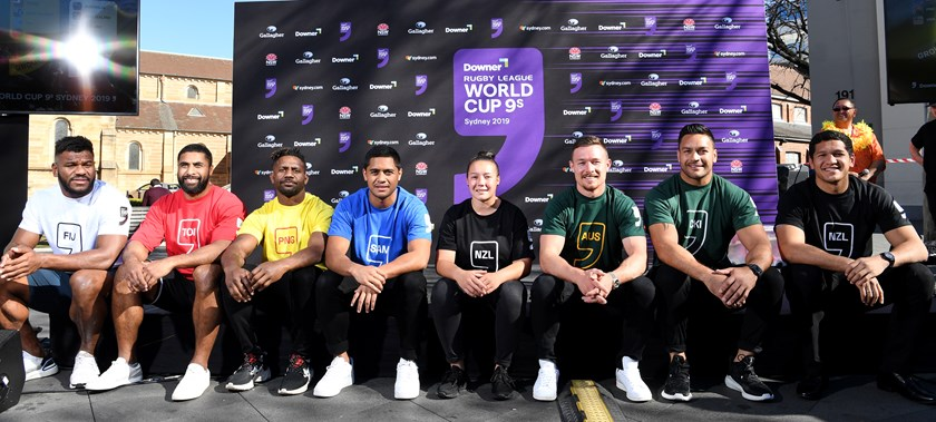 Excitement is building ahead of the World 9s in October.