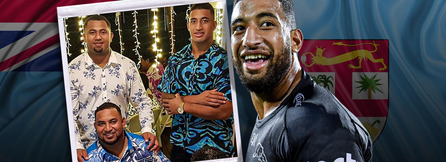 Full-time siren flight to Fiji: Kikau's 6750km dash for brother's wedding