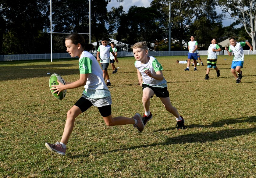 League Stars has been designed to help grow rugby league at the grassroots level.