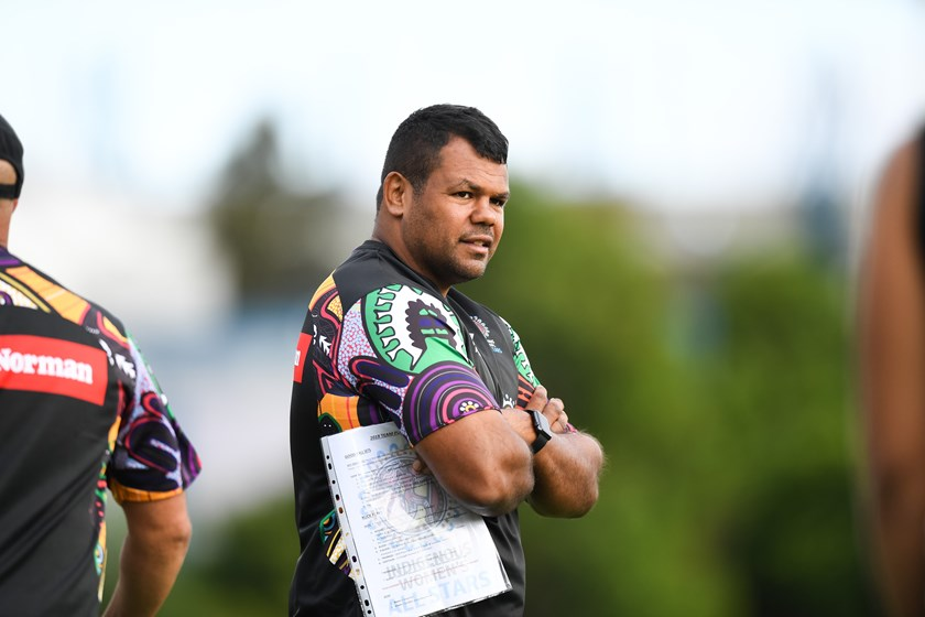 NRL Indigenous Pathways manager Dean Widders.