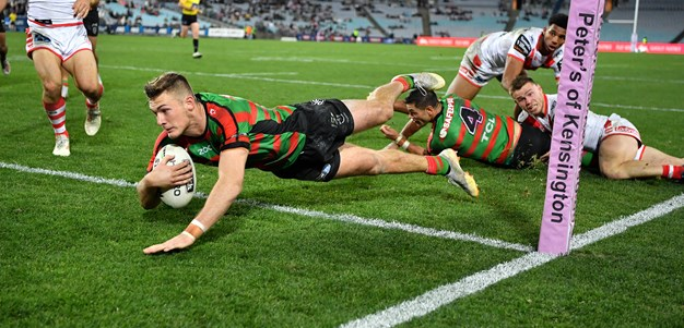 Rabbitohs steal last-second win over brave Dragons
