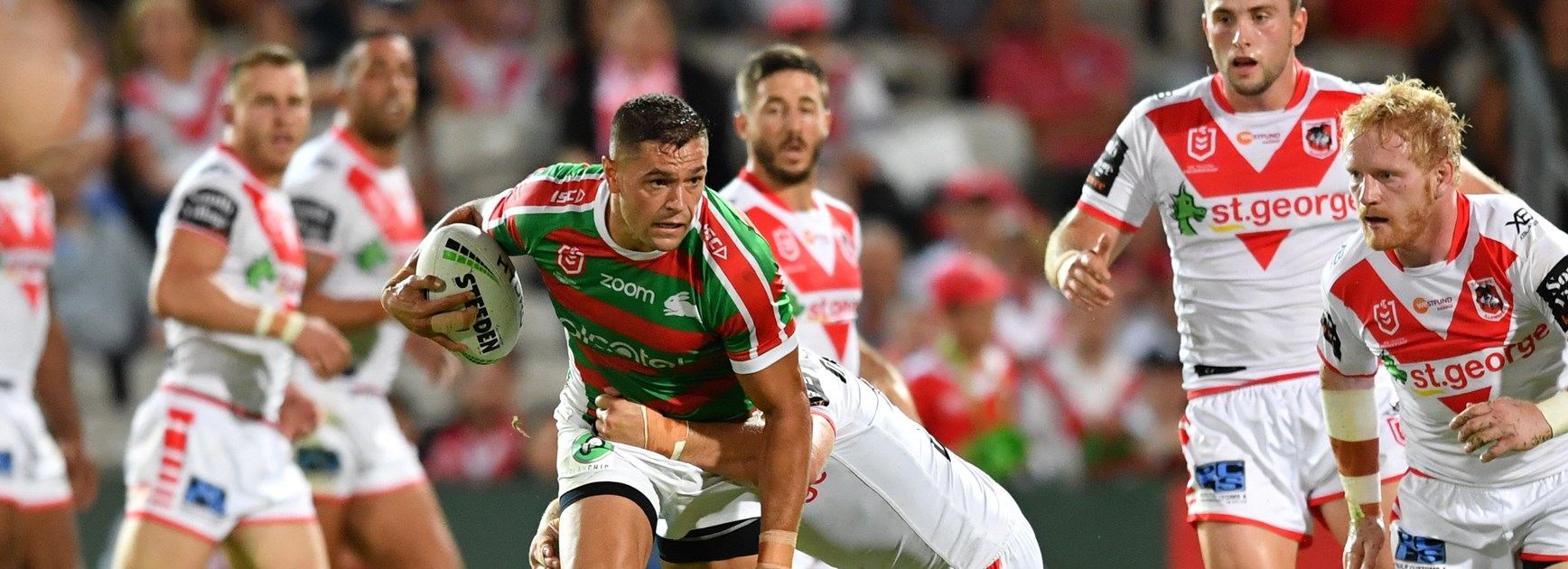 Centre switch allows Burns to finally ignite NRL career