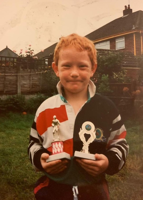 A very young James Graham.