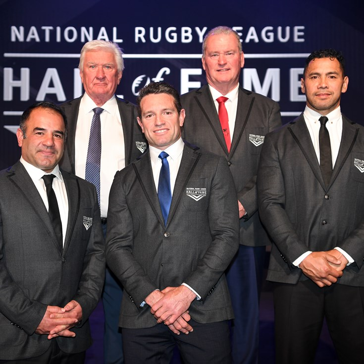 Hall of Fame inductees humbled by honour