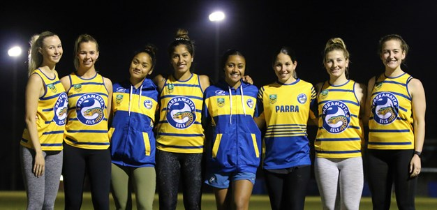 Eels women's Touch Premiership title charge a family affair