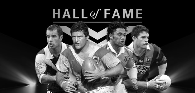 Craig Young inducted to the NRL Hall of Fame