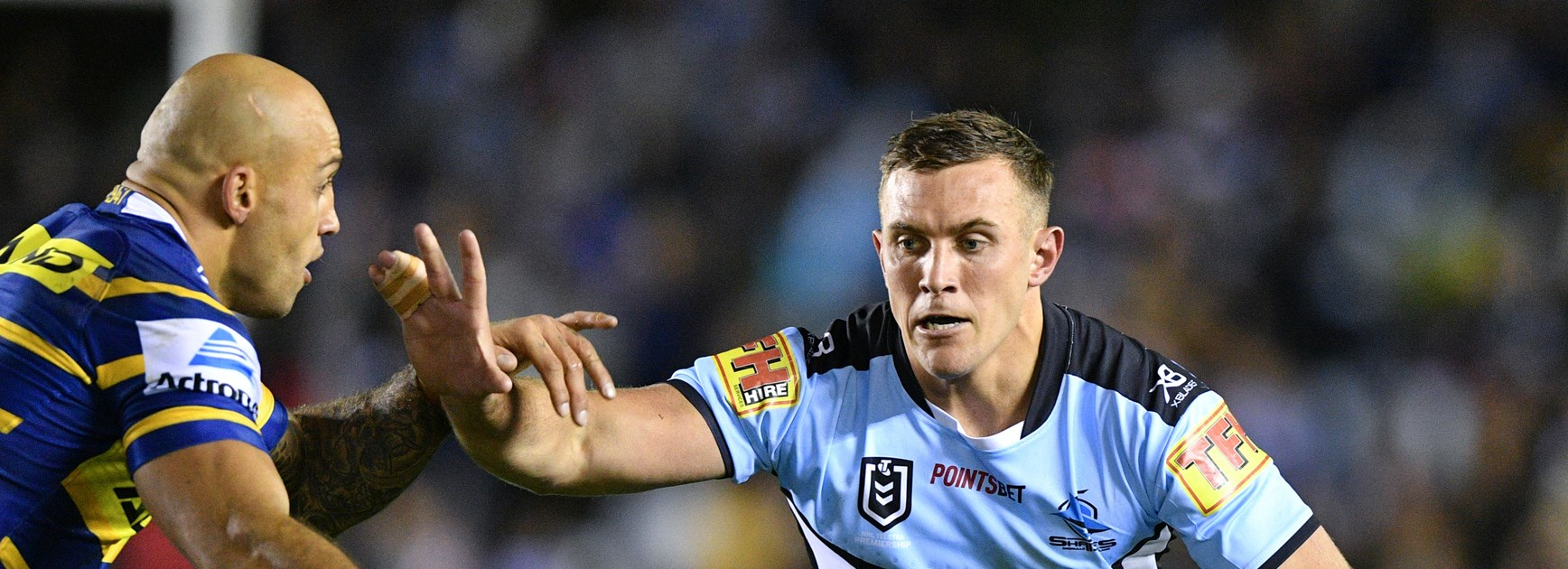 Utility value for money: Sharks concede they're set to lose Capewell