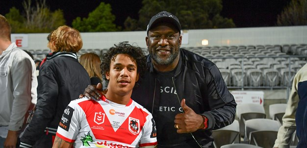 Sailor offers hope for the future after heavy loss to Roosters