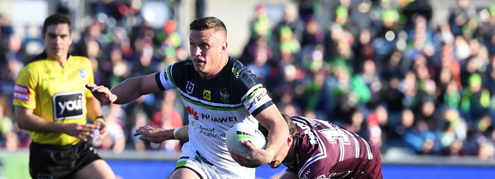 Raiders five-eighth Jack Wighton.