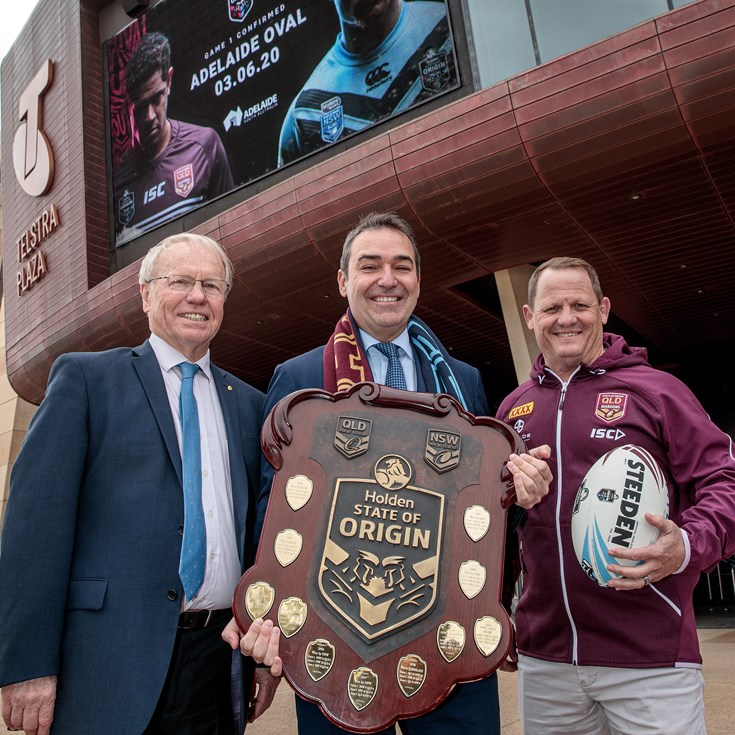 Adelaide To Host First Origin - 2020 Schedule Released
