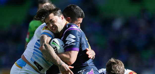 Top-two berth locked in, Storm hoping for home finals double