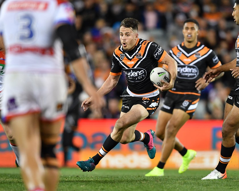 Wests Tigers utility Josh Reynolds.