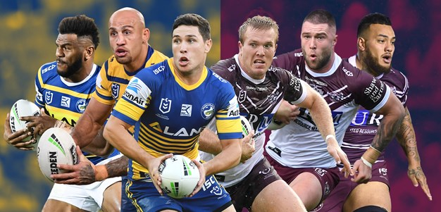 Kings of swing: Eels and Manly set to achieve rare feat