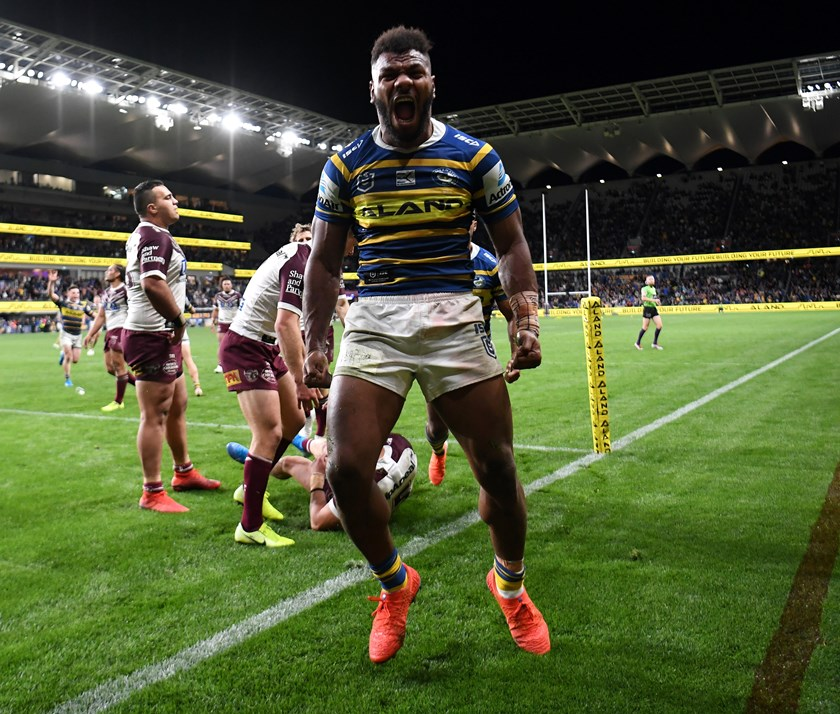 Maika Sivo had a night out against the Sea Eagles in round 25, 2019.