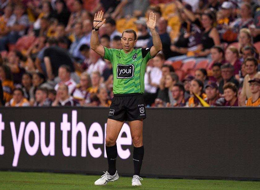 Ben Cummins will be the lead referee for the grand final.