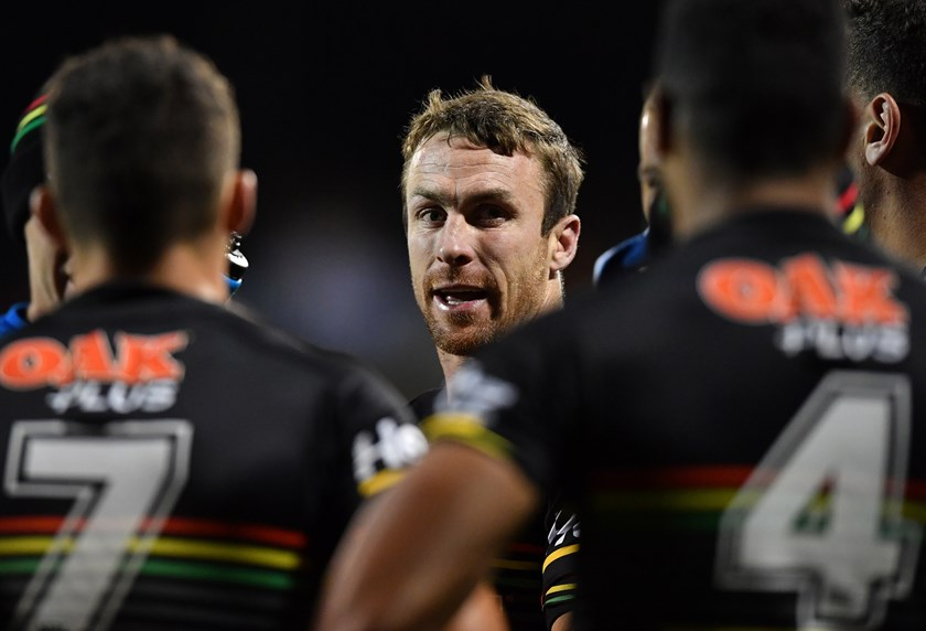 James Maloney and the Panthers were thrashed by Melbourne.