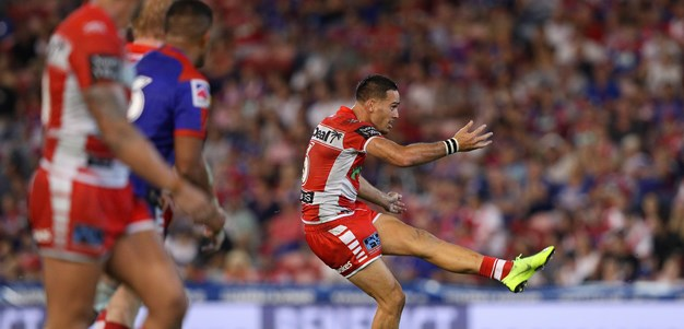 Norman boots Dragons to golden-point win over Knights