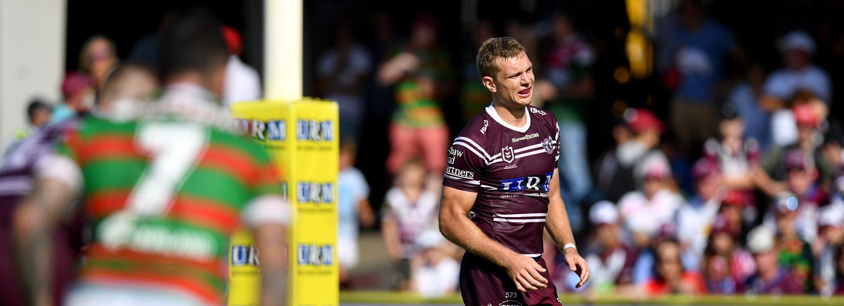 Manly players once again learning to live without Turbo