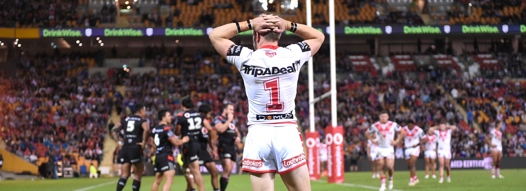 Dragons lament conceding 46 second-half points in two weeks