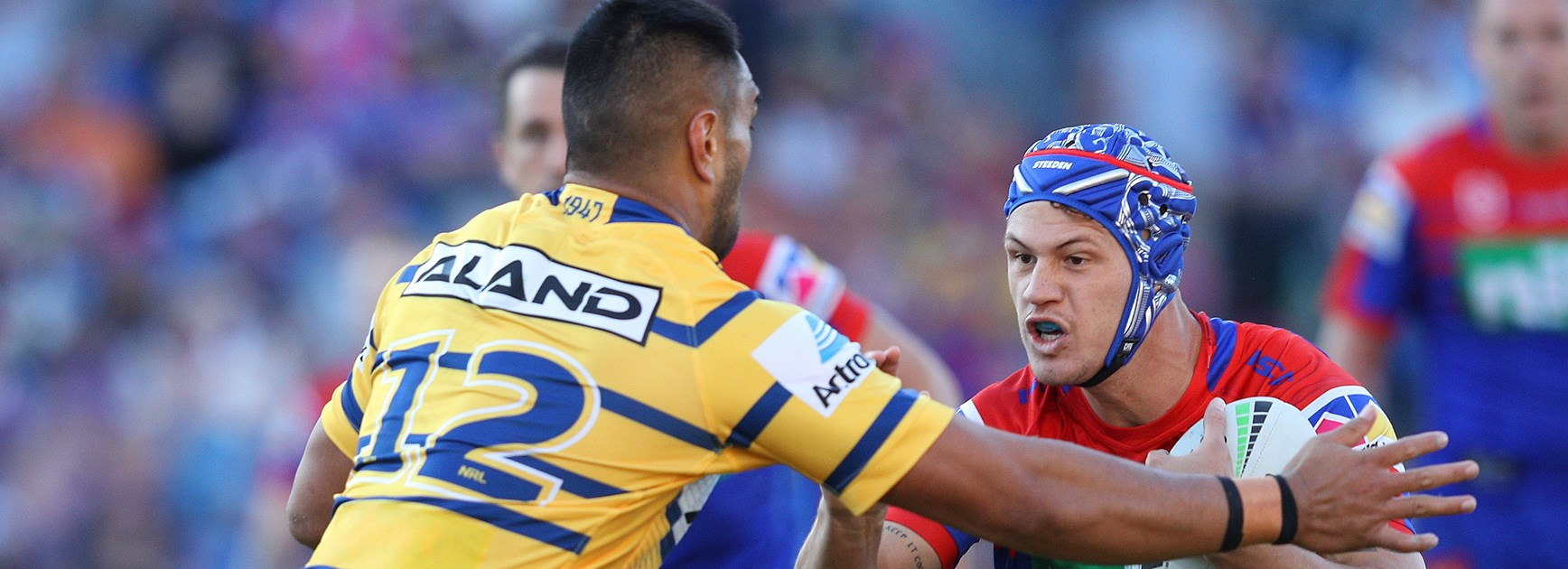 Knights rebound from week of soul-searching to upset Eels